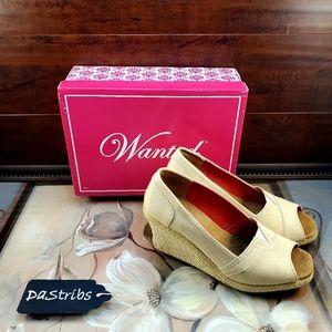 Women's tan Wanted shoes size 7.5